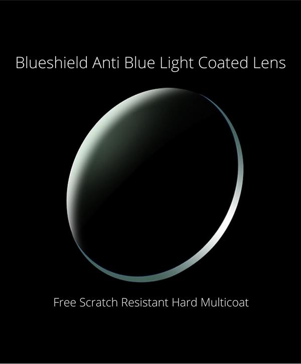 Prescription Blue Shield Anti Bluelight Coated Lens (1 Pair)