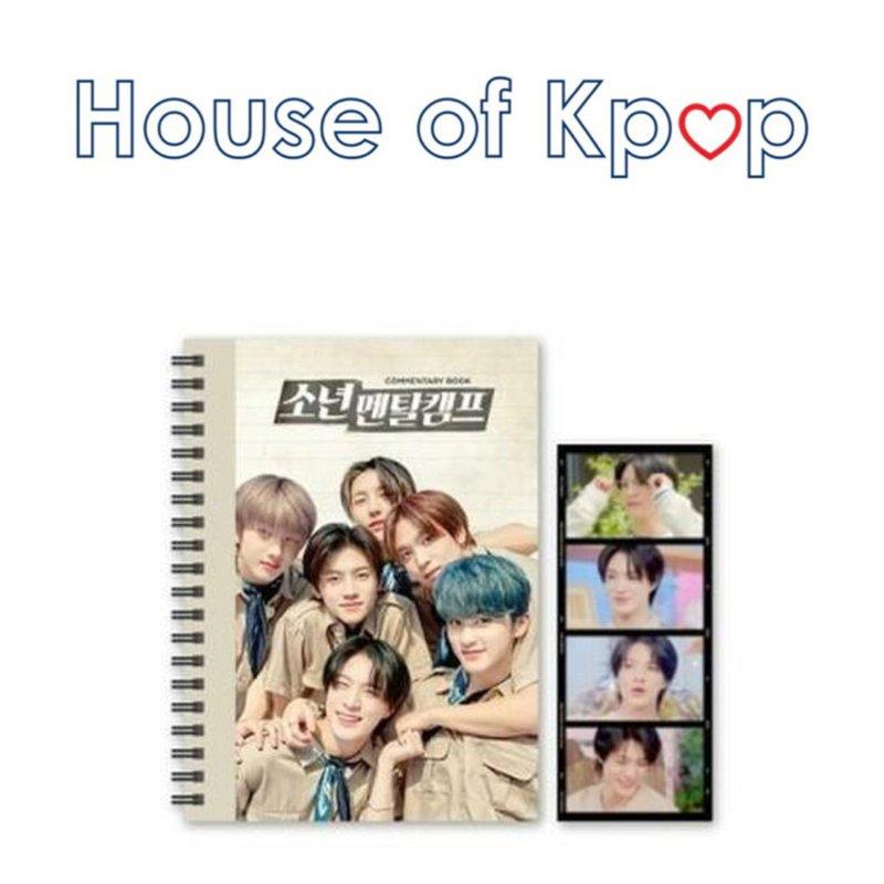 NCT DREAM Commentary book + film SET - NCT DREAM '소년멘탈캠프'