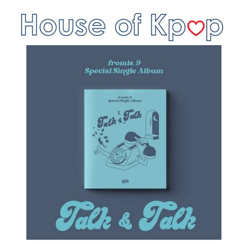 fromis_9 - Special Single Album [Talk & Talk] (Limited Edition)