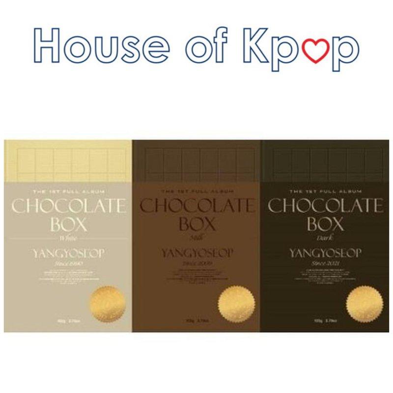 Highlight : YANG YO SEOP - 1st Full Album [Chocolate Box]