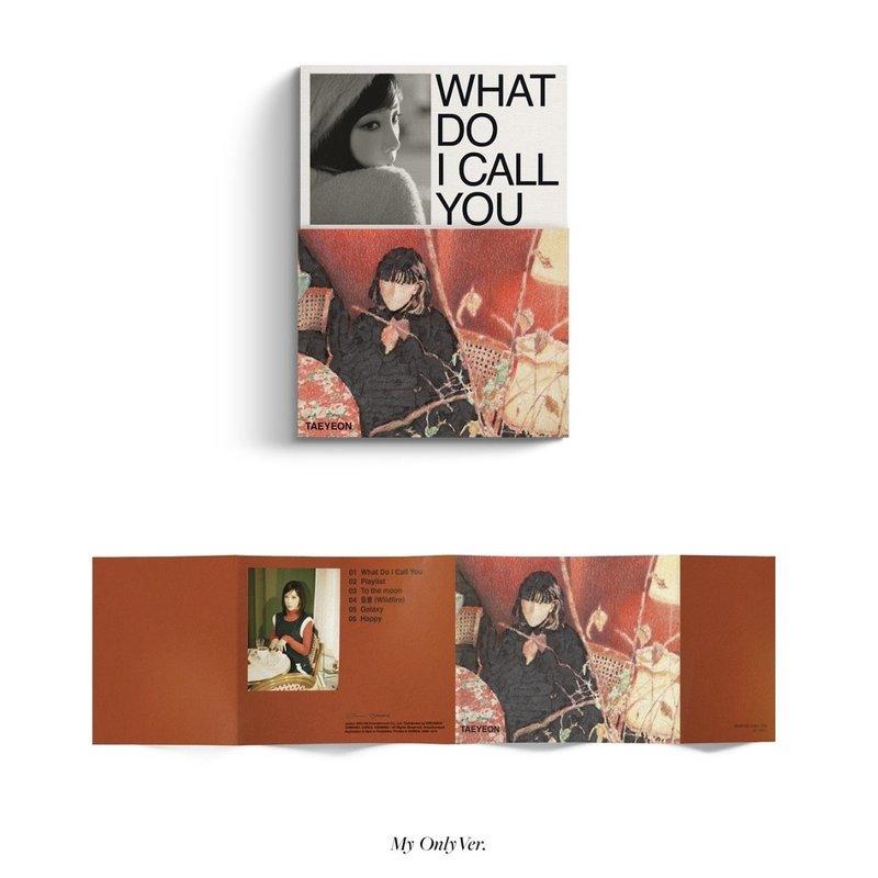 TAEYEON - Mini Album Vol.4 [What Do I Call You]