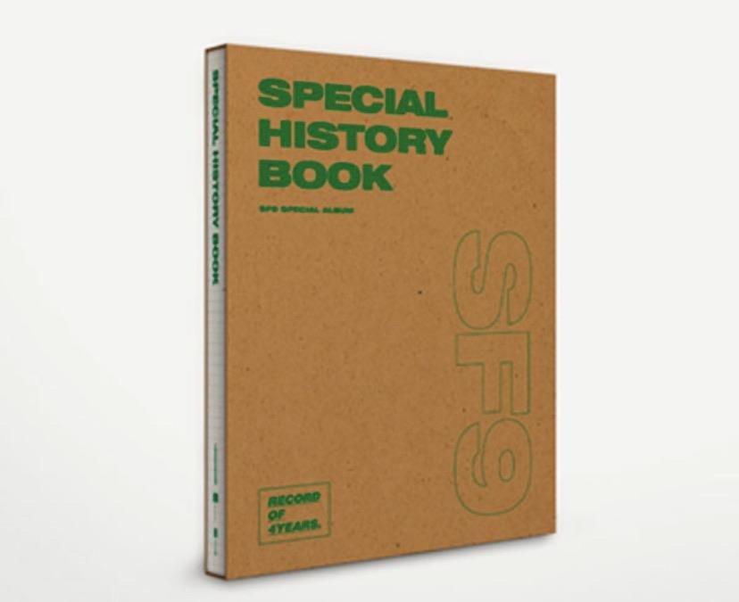 SF9 - Special Album [SPECIAL HISTORY BOOK]
