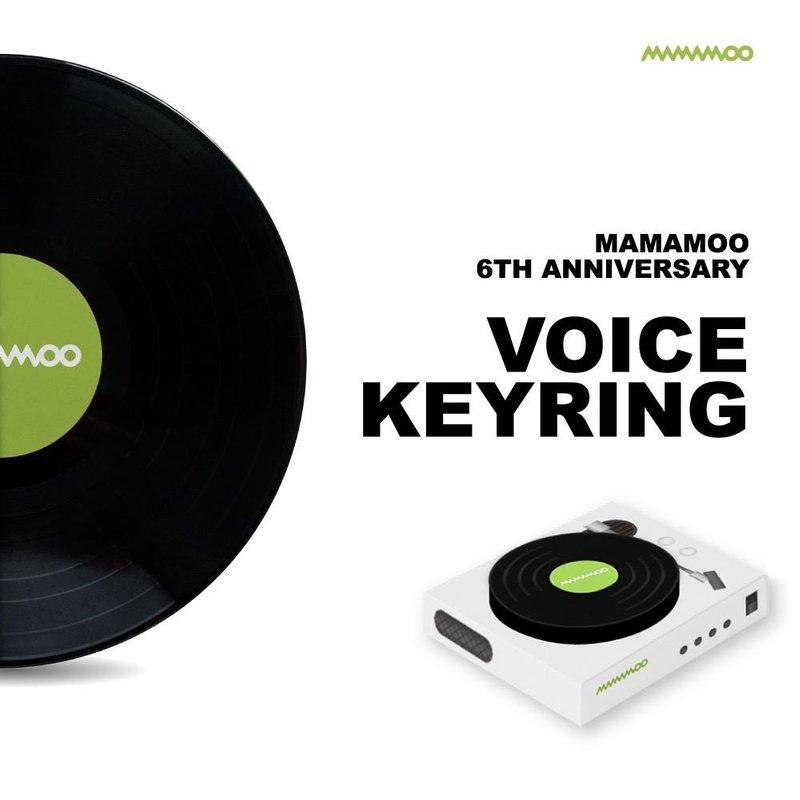 MAMAMOO 6TH VOICE KEYRING