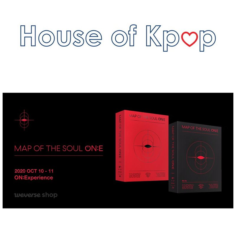 BTS MAP OF THE SOUL ON:E DVD / BLU RAY