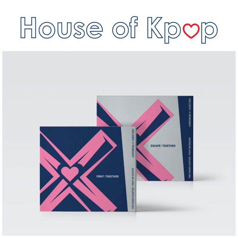 """TXT 2nd regular repackage album """"The Chaos Chapter: FIGHT OR ESCAPE(TOGETHER ver.)"""""""