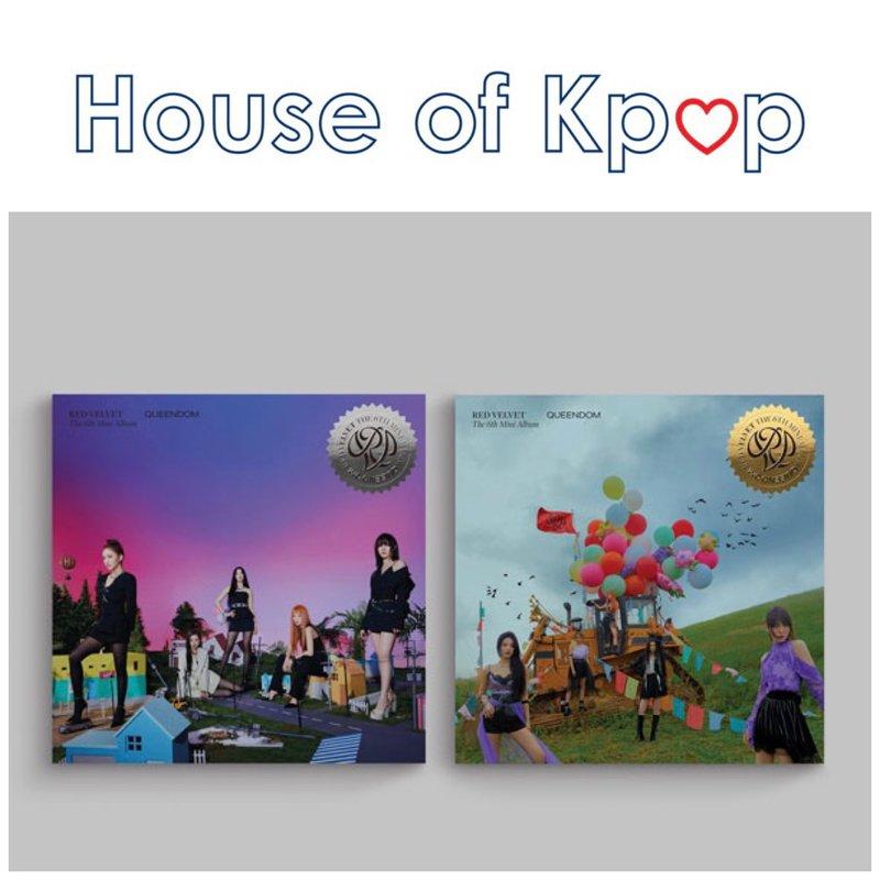 Red Velvet - Mini Album Vol.6 [Queendom]