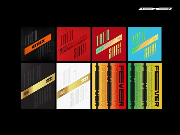 ATEEZ - Re-released Albums
