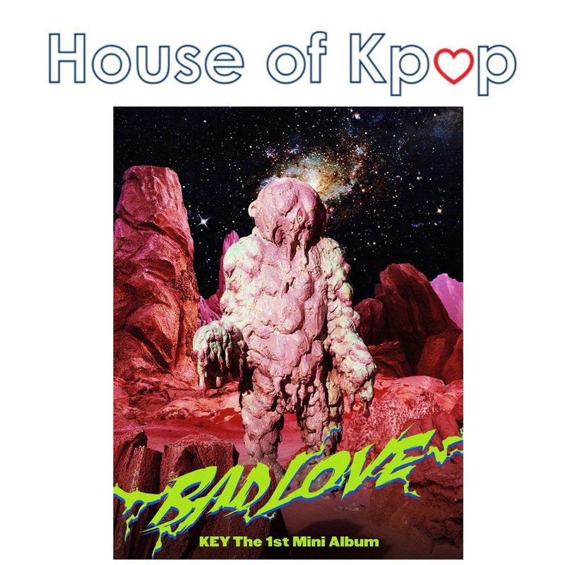SHINEE KEY - 1st Mini Album [BAD LOVE]