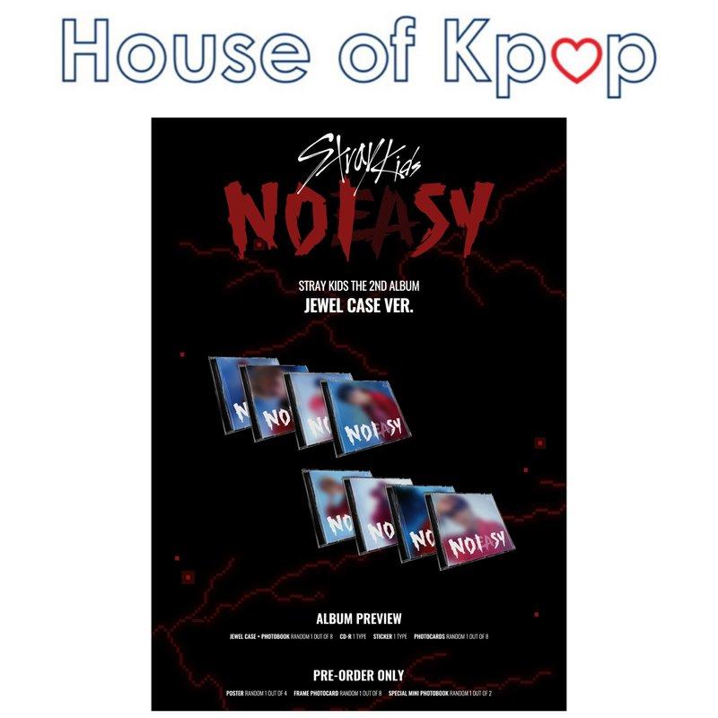 Stray Kids - ALBUM Vol.2 [NOEASY] (Jewel Case Ver)