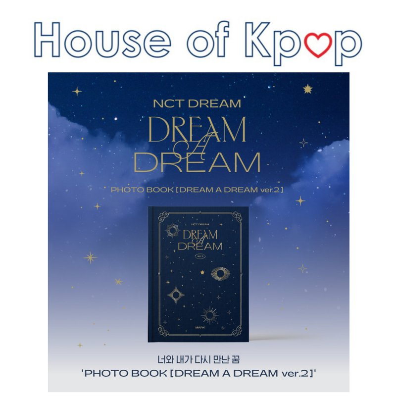NCT DREAM PHOTO BOOK [DREAM A DREAM ver.2]