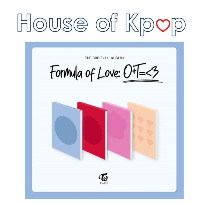 TWICE - Full Album Vol.3 [Formula of Love: O+T=<3]