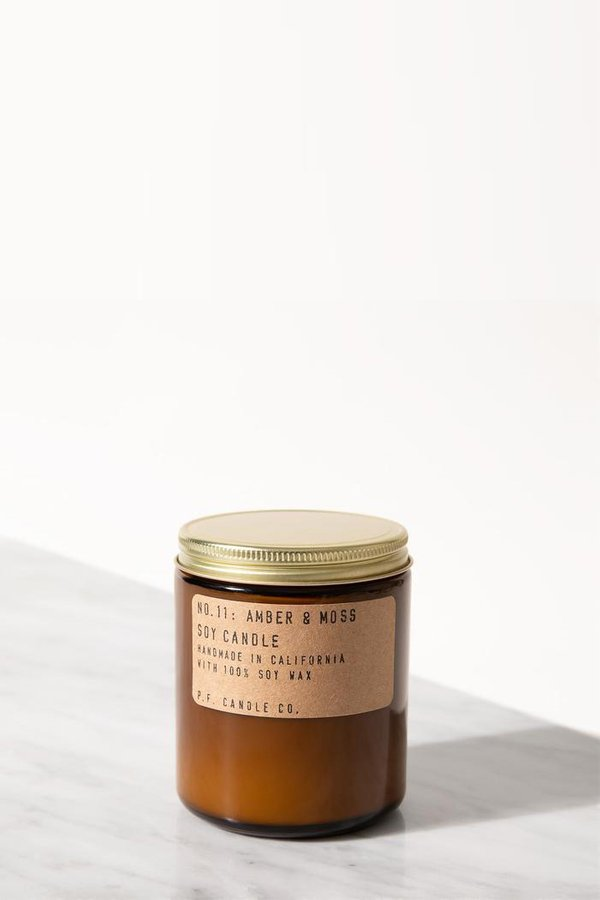 P.F. Candle Co. Amber & Moss 7.2 Oz Soy Candle