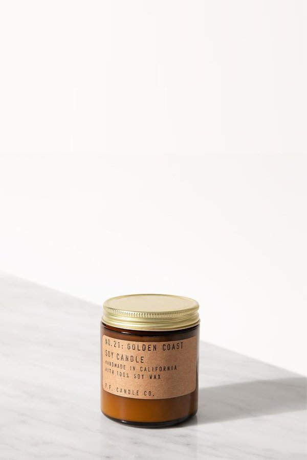 P.F. Candle Co. Golden Coast 3.5 Oz Soy Candle
