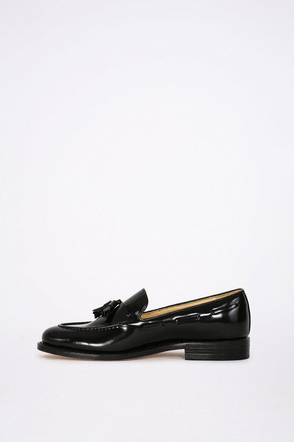 London Brown Tassel Loafers