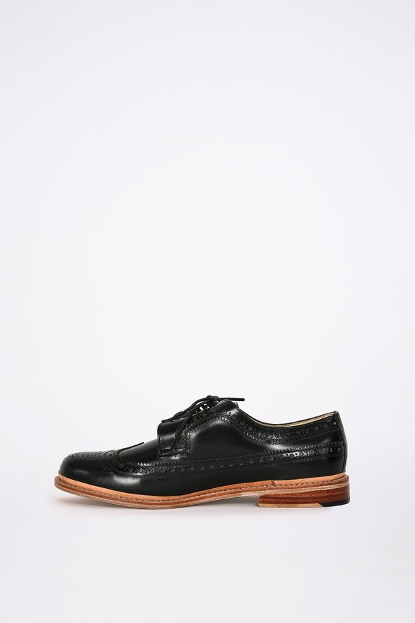 London Brown Wingtips