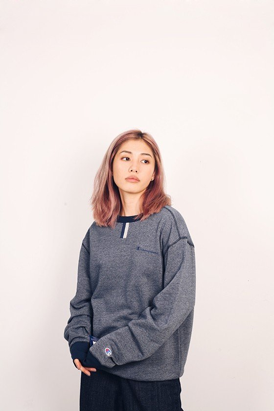 Champion YC Heritage Heather Crew
