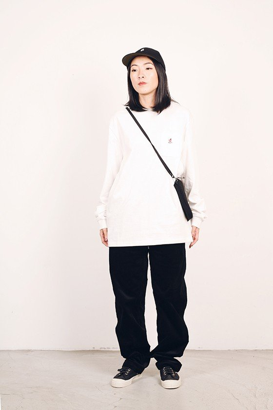 Gramicci Japan One Point L/S Tee