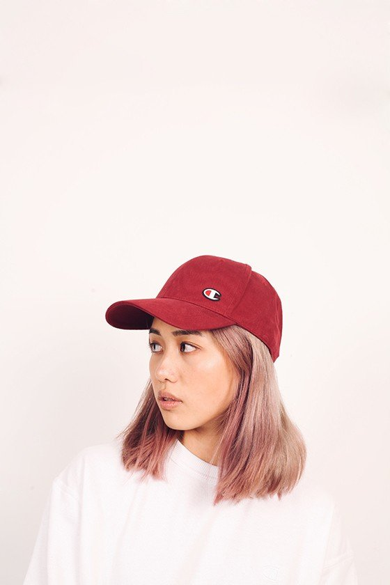 Champion Classic Twill Cap with C Patch