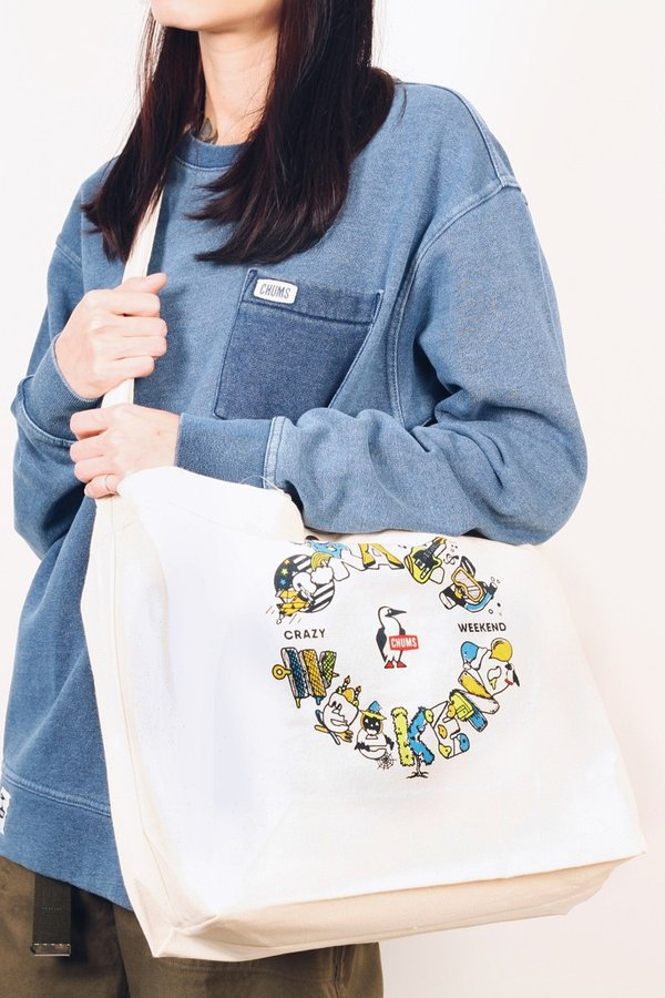 Chums Japan Pocket Crew Top