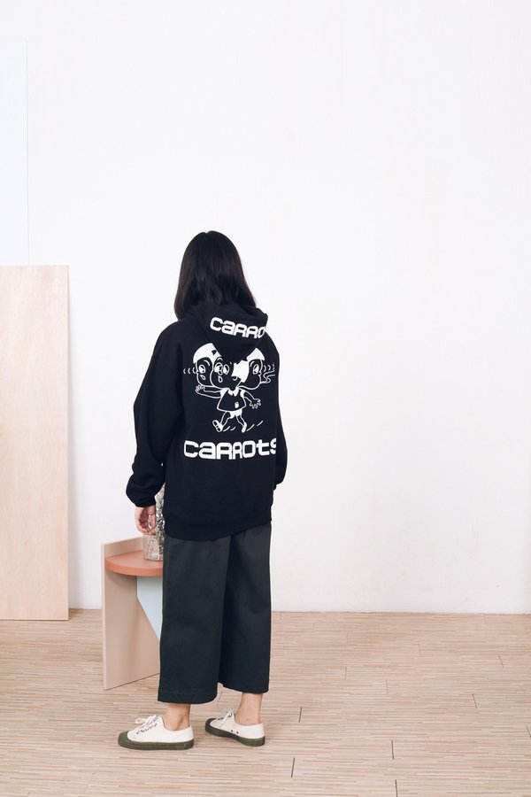 Conjoined Hooded Sweatshirt