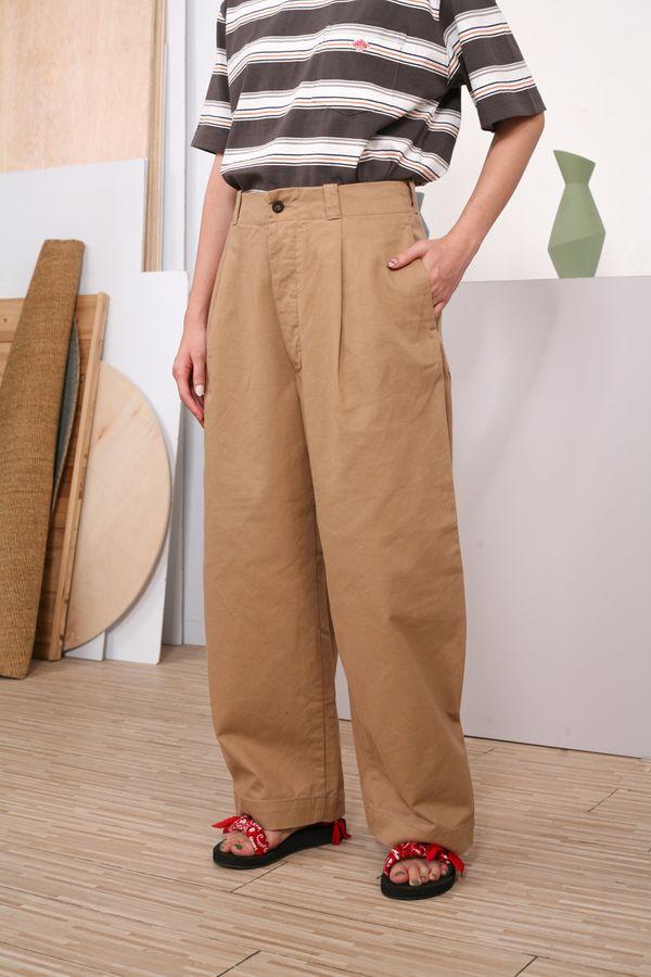 Danton Katsuragi Cinch Wide Pants