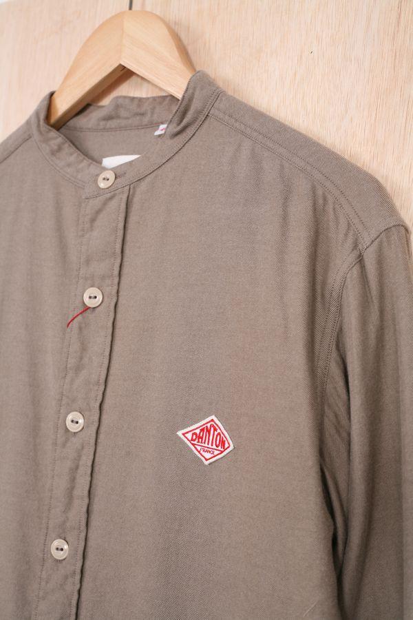Danton Viyella Band Collar Shirt