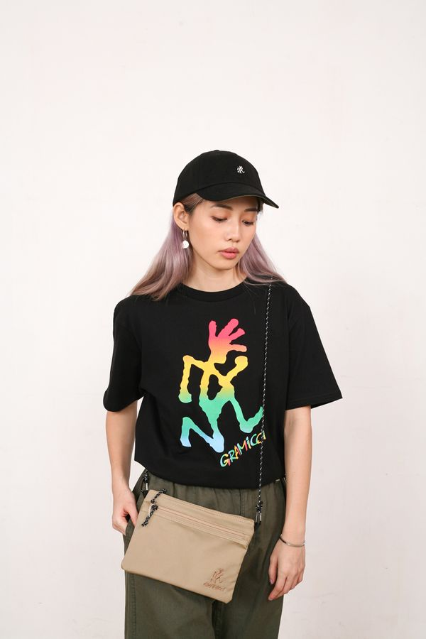 Gramicci Japan Tie Dye Running Man Tee