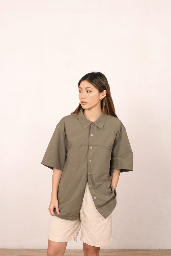 Gramicci Japan Shell Camp Shirt