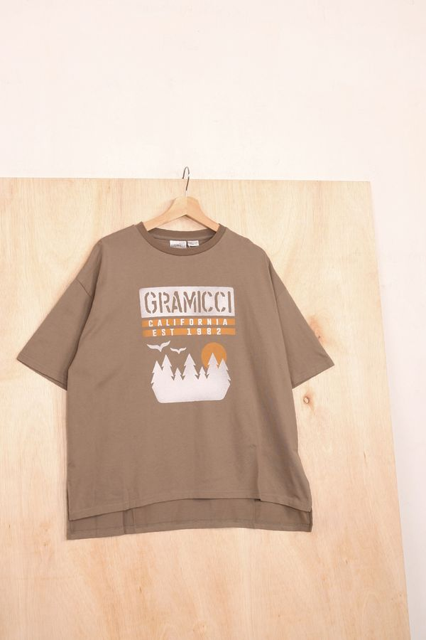 Gramicci Japan Sunset Slit Tee