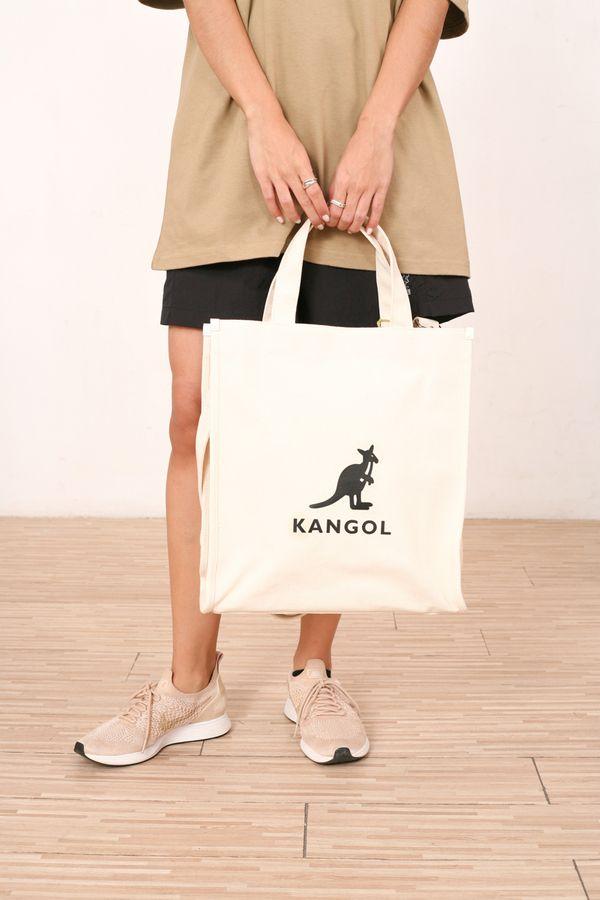 Kangol Hexa Canvas 2 Way Tote Bag