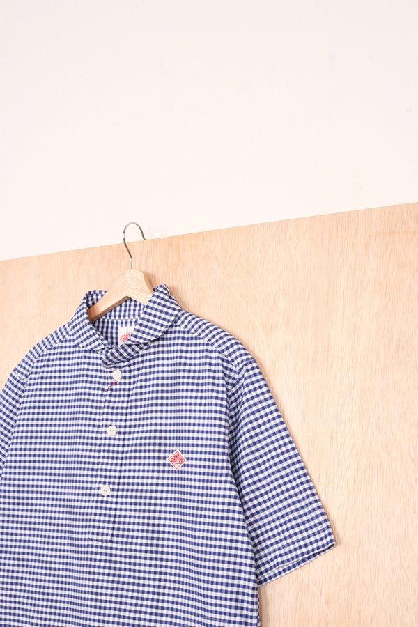 Danton Round Collar Pullover Shirt